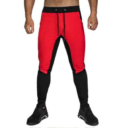 Men/'s Gym Workout Jogger Track Pants Slim Fit Tapered Sweatpants with Pockets