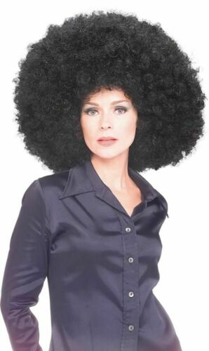 Rubies Super Oversized Black Afro Wig Adult Halloween Costume Accessory 50679