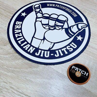 Jiu Jitsu Gi Patch SuperMAN on Kimono  MMA UFC Grappling BRAZIL fightwear
