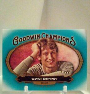 2020 goodwin champions Wayne Gretzky Horizontal Tourqoiuse #90   eBay
