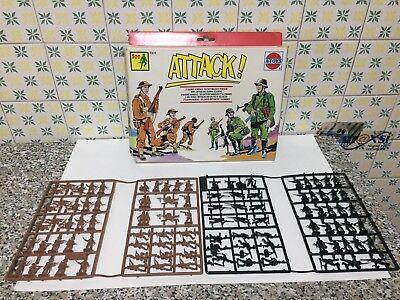A-toys 1101 Soldati Inglesi E Tedeschi Serie Completa Sprue Scatola Scala H0