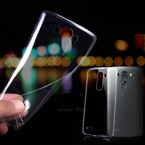 Ultra Thin Slim Transparent Crystal Clear Soft Case Cover For LG G2 G3 G4 Nexus5