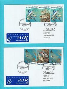 Nueva-Zelanda-De-1998-Postfrisch-Minr-1715-1718-Animales-de-Mar-Sello-Especial