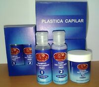 Plastica Capilar Xy - Pre-treatment Shampoo 50ml, Sleek 50 Ml, Neutraliser 50ml