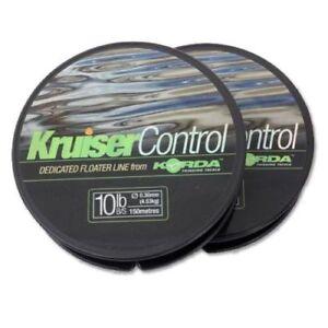 Korda-Kruiser-Control-Clear-Surface-Float-Line-8lb-10lb-12lb-Coarse-Fishing