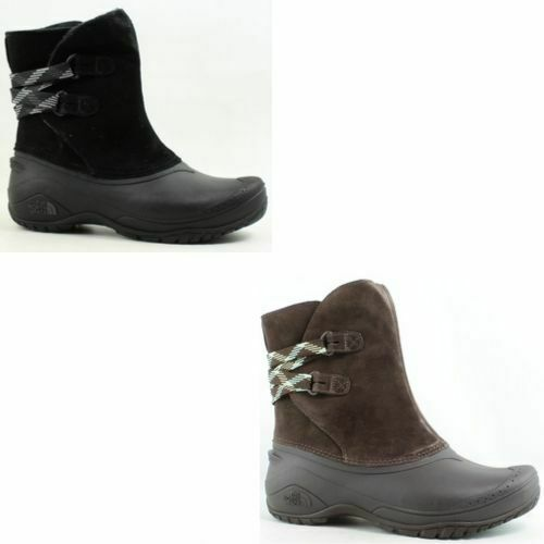The North Face Womens Shellista Ii Pull-On Black Snow Boots Size 5