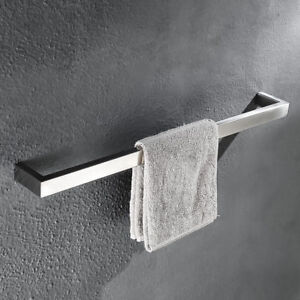 Details About Stainless Steel 304 Towel Bar Holder Brushed Nickel Wall Mounted Rails