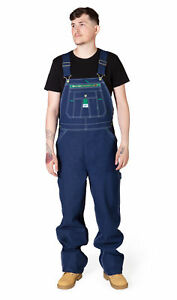 Liberty Indigo Denim Work Dungarees Mens Dungarees Bib Overalls Big and Tall