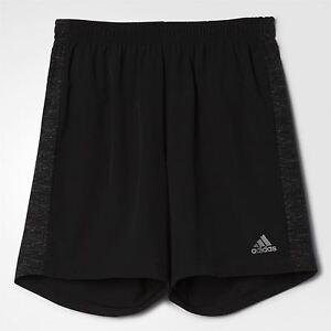 adidas-SUPERNOVA-5-034-RUNNING-SHORTS-BLACK-MEN-039-S-FITNESS-GYM-WORK-OUT-CLIMALITE