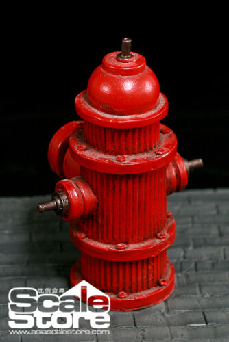 """*1//6 scale Story Scenes fire hydrant P0013-2 for 12/"""" figure accessory"""