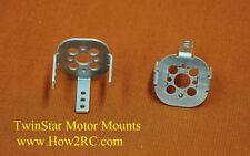 TwinStar II, aluminum Motor Mounts, for Brushless motors