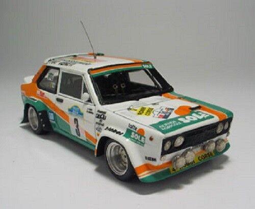 Kit Fiat 131 Abarth Gr.4 4 Rombi Team Targa Florio 1981 - Arena kit 1 43