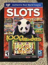 Igt Slots 100 Pandas Pc Games Windows Mac Computer Games Slot