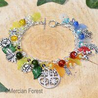 The Four Seasons Bracelet - Pagan Jewellery, Spring, Summer, Autumn, Winter