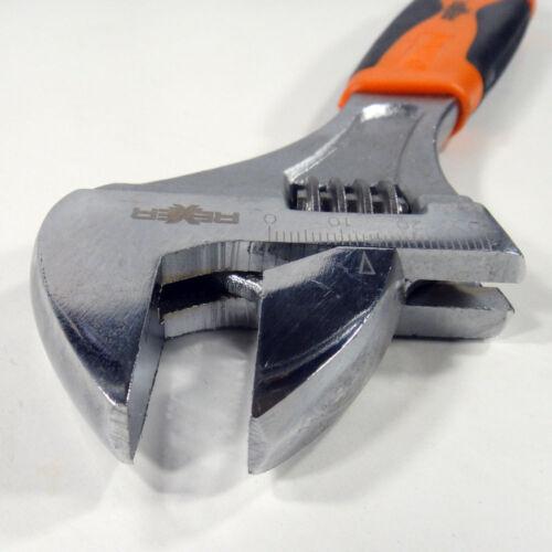 verstellbar 0-30 mm x 250 mm Länge, Kopf angewinkelt Einmaulschlüssel