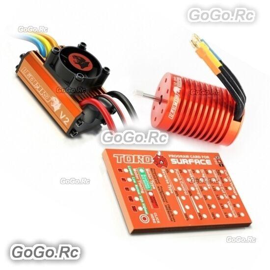 LEOPARD  cieloRC 3000KV 13T Brushless Motor & 60A ESC Speed Controller Combo NB  vendite online