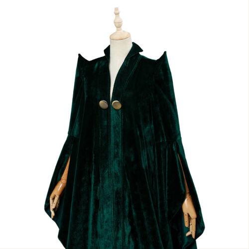 Harry Potter Haus Gryffindor Minerva McGonagall Professor Cosplay Kostüm Mantel