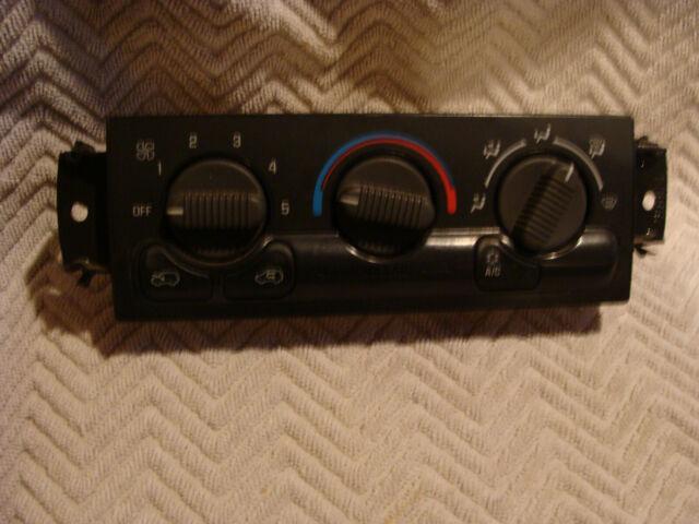 99 2002 GM Silverado GMC Sierra Heat A/C Climate Control ...