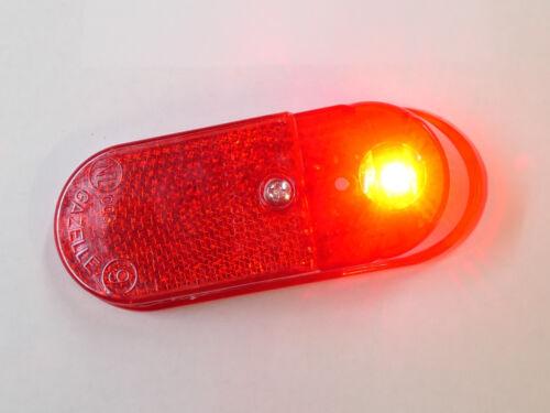 Gazelle Rücklicht Nr 9 LED Batteriebetrieb für Schutzblech Tour Populair