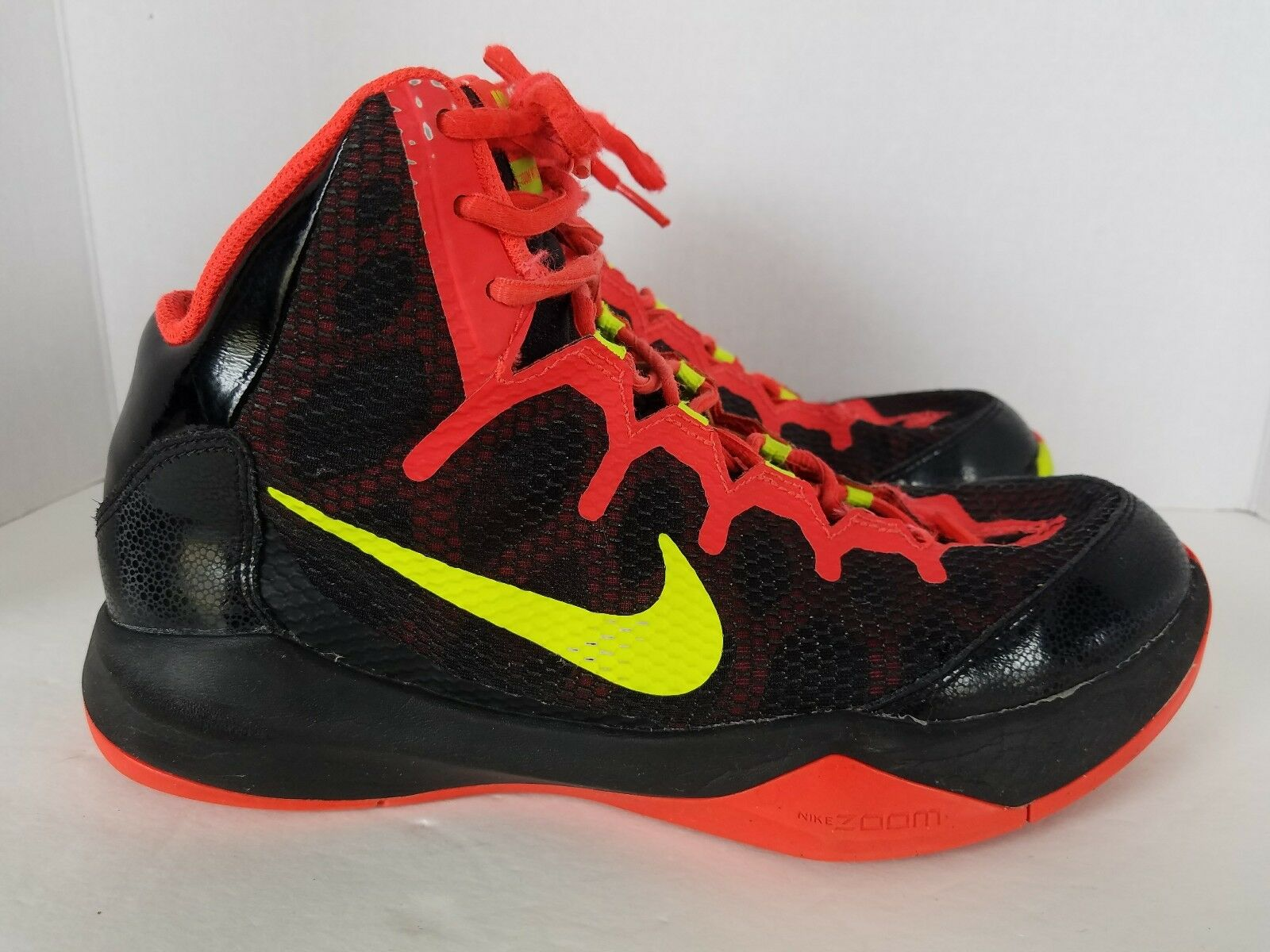 Nike ZOOM Without A Doubt Neon & Black Basketball Shoes Comfortable