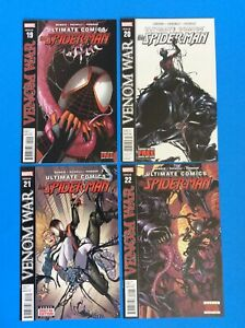 All New Ultimate Spider-Man #19-22 (Marvel) Venom War ...