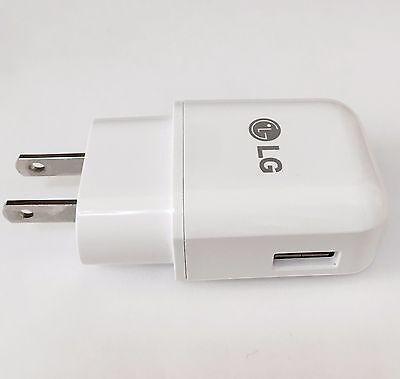 Original OEM LG Fast Charger + Cable LG V10 G2 G3 G4 G5 G6 V20 FLEX 2 MCS-H05WD
