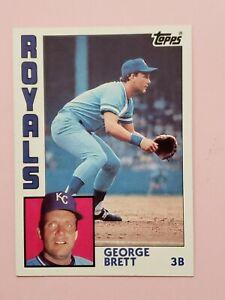 1984 Topps #500 George Brett HOF NM-MT Kansas City Royals Baseball Card