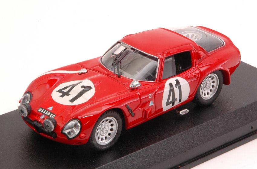Alfa Romeo Tz2  41 Retirouge Lm 1965 R. Bussinello    J. Rolland 1 43 Model  haute qualité