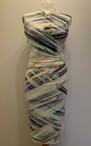 Multi Less Color Detail Ted Wrap 1 Size Xs qara Dress Manicotto Baker E5xaIIrqwY
