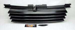 VW-Jetta-Bora-MK4-99-04-Black-Euro-Front-Hood-Badgeless-Grill-W-Notch-Filler
