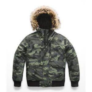 The North Face Toddler Boys GOTHAM JACKET 550 Down Coat Green Camo ... 022b119cb