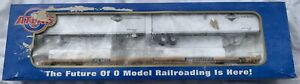 ATLAS-O-WESTERN-PACIFIC-TTX-89-FLAT-CAR-amp-PINES-TRAILER-LNBOX-FITS-LIONEL-MTH