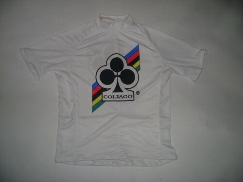 ITALIA Vélo Jersey COLNAGO Bikes Italien Chemise Taille XXL Cool Italie Blanc Mash pas de prix de réserve