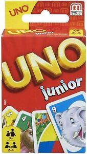 Mattel-Uno-Junior-Famille-Amusant-Classique-Carte-Jeu-Uno-Cartes-Set