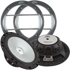 ★ ESX Signum SE 6.2W Kickbass Bass Lautsprecher Paar SE 6.2 W Kick Bässe