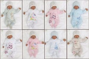 baby100-Algodon-Unisex-Pelele-pijama-talla-50-56-62-68-MODA-inglesa