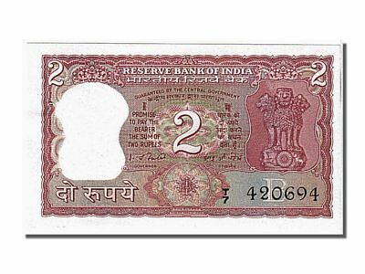 T7 420694 Less Expensive Unc India Km #53e 2 Rupees #105404 63