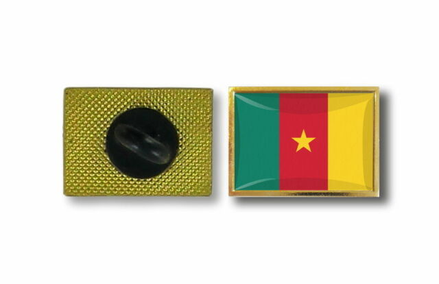 pins pin's flag national badge metal lapel backpack hat button vest camerun