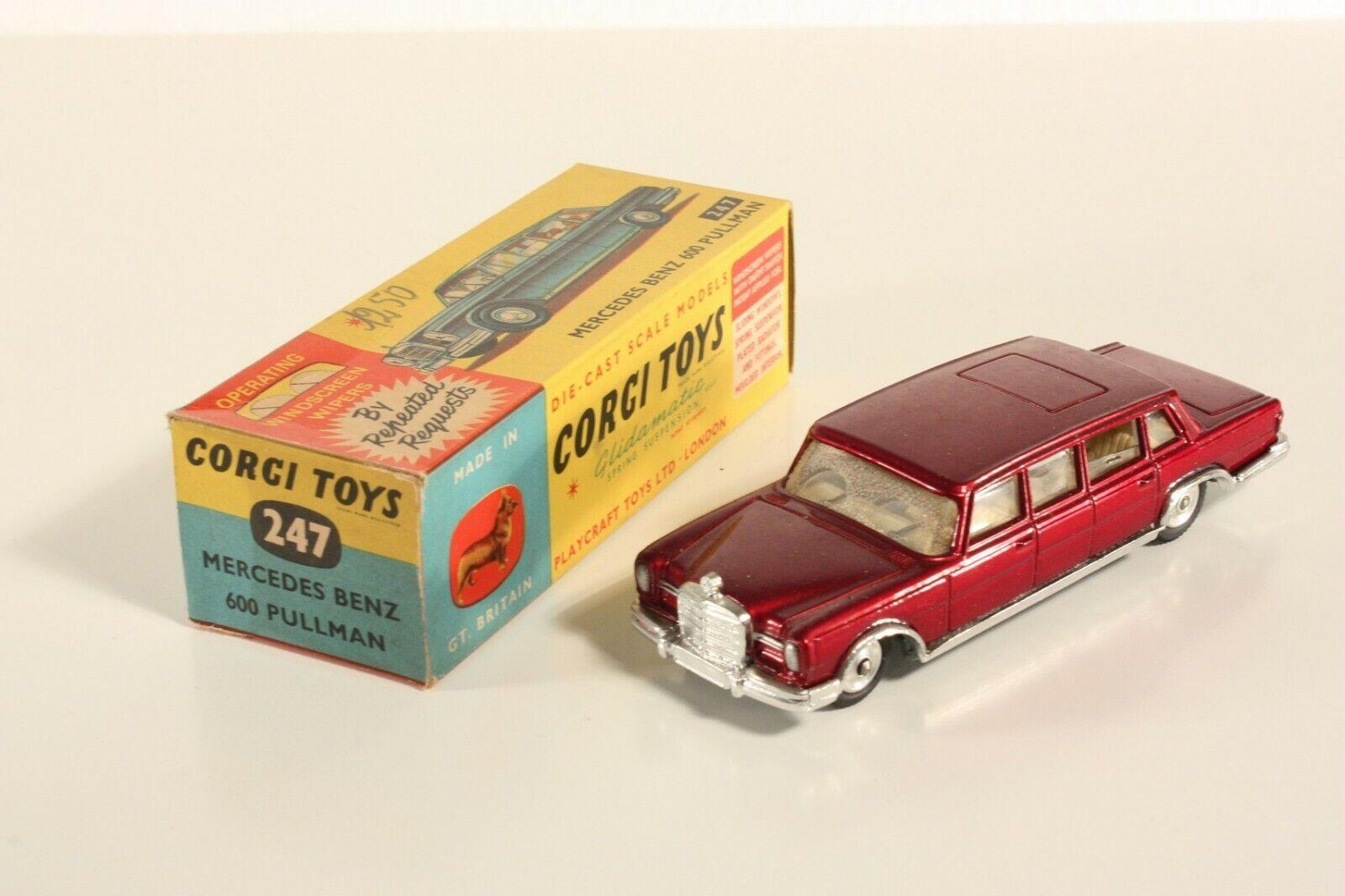 Corgi Toys 247, Mercedes Benz 600 Pullman, Mint in Box                    ab2203