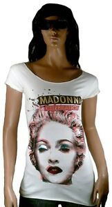 Star Amplified Rock Lunga Tunik Celebration Madonna Vip Camicia Ufficiale TwIz1p