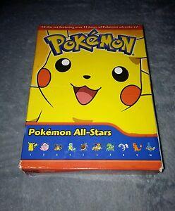 Pokemon-All-Stars-DVD-2007-10-Disc-Set-RARE-oop