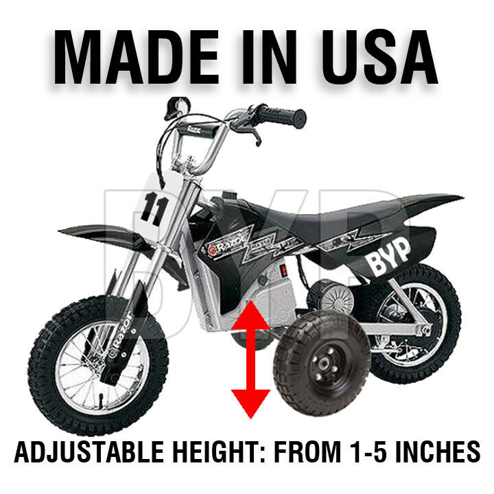 Razor Mx350 Mx400 Kids Youth Training Wheels For Sale Online Ebay