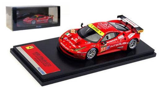 Fujimi Ferrari 458 Italia GT2 'AF Corse' Le Mans 2013 - 1 43 Scale