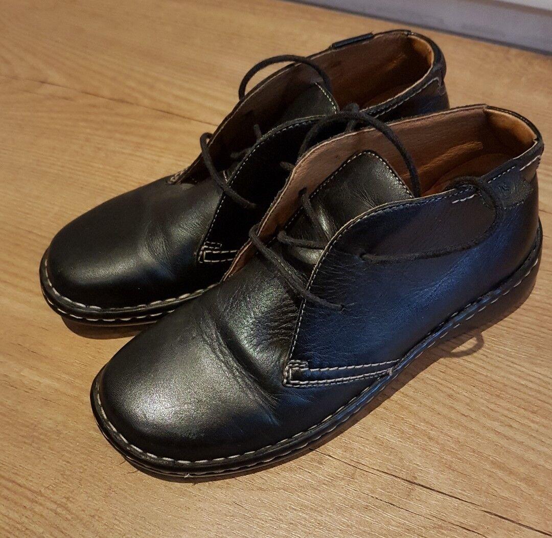 Damenschuhe/ladies Josef Seibel schwarz Größe 4 eu 37 schwarz Seibel  ankle Stiefel 744d95