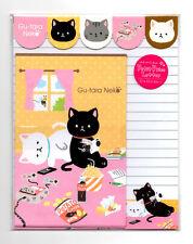 Kawaii Neko Cat Video Games Snacks Letter Set Japan Stationery