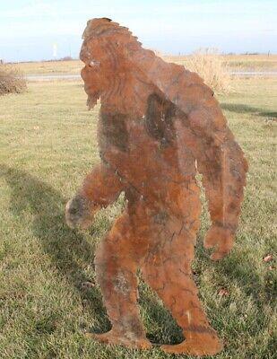 Big Foot Bigfoot Gift Small Metal Garden Stake Bigfoot Sasquatch