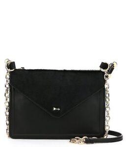 Image Is Loading New Dillards Gianni Bini Black Faux Leather Tote