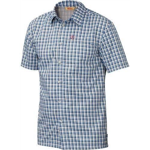 Laderas räven Svante camisa SS, manga corta-camisa, Dark Navy, camisa de función
