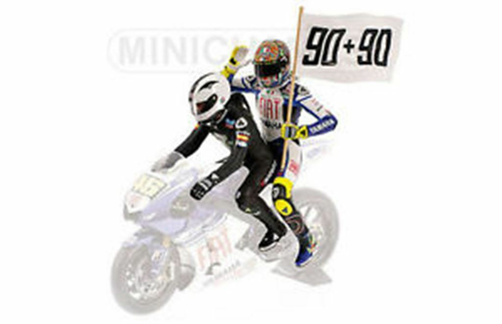MINICHAMPS 080190 figurines V Rossi & A Nieto Nieto Nieto 90+90 Victory Le Mans 2008 1 12th 4aeeaf