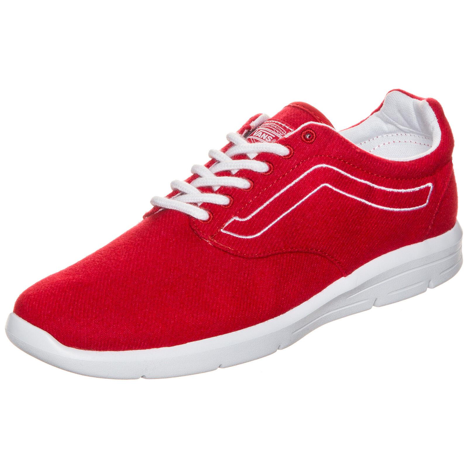 Vans Iso 1.5 Varsity Sneaker Herren Rot NEU Schuhe Turnschuhe